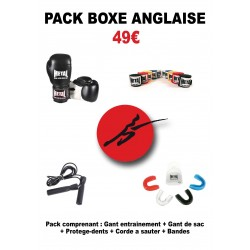 Pack boxe anglaise