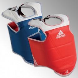 Plastron réversible entraînement et compétition Adidas