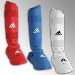 Protège tibia et pied karaté Adidas WKF