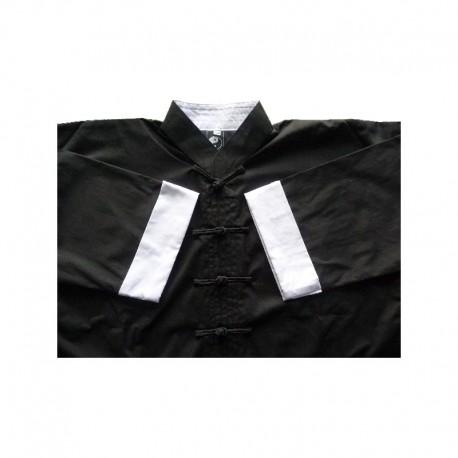 Tenue Kimono Kung-fu col blanc